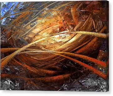 Cosmic Strings Canvas Print by Arthur Braginsky