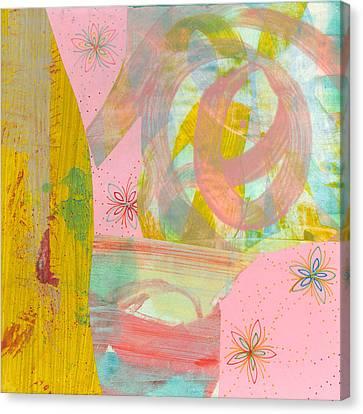 Cotton Candy Canvas Print by Alexandra Sheldon