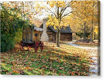 Country Living Canvas Print by Franklin Conour