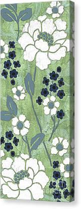 Country Spa Floral 1 Canvas Print by Debbie DeWitt