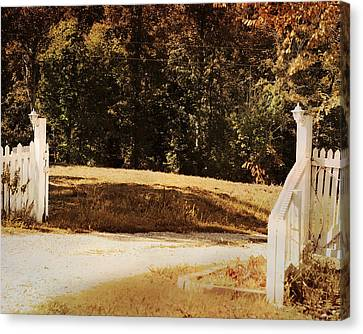 Country Welcome Landscape Canvas Print by Jai Johnson