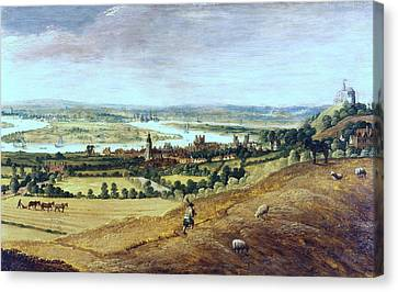 Countryside In London, England, 17th Century Canvas Print by Photos.com