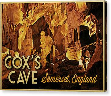 Cox's Cave England Canvas Print by Flo Karp