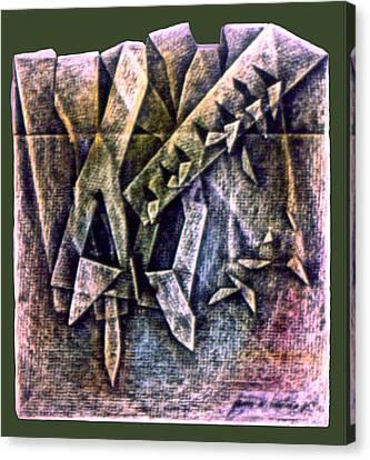 Crayolacomp B 1985 Canvas Print by Glenn Bautista