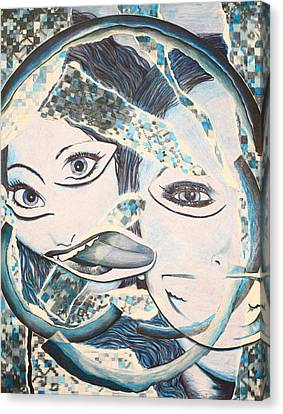 Crazy In Seattle Canvas Print by Tamra Pfeifle Davisson