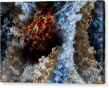 Creation Canvas Print by Christopher Gaston