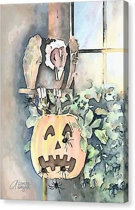 Creepy Crawlers Canvas Print by Arline Wagner