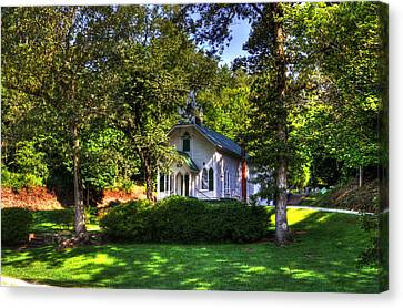 Crescent Hill Baptist Church Canvas Print by Greg and Chrystal Mimbs
