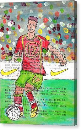 Cristiano Ronaldo Canvas Print by Jera Sky