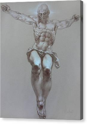 Crucifixion Canvas Print by Valeriy Mavlo
