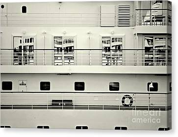 Cruise Reflections Canvas Print by Dean Harte