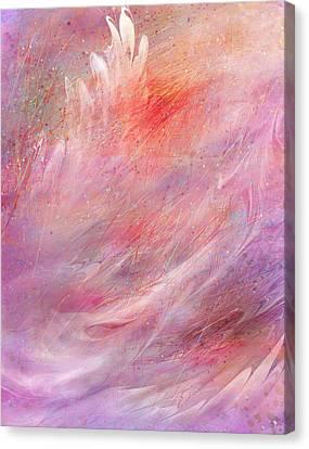Cry Of A Bird Canvas Print by Rachel Christine Nowicki