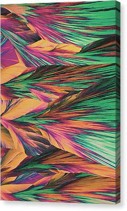Crystal Micro Structure Canvas Print by John Foxx
