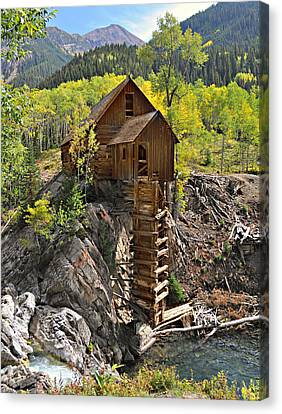Crystal Mill 4 Canvas Print by Marty Koch