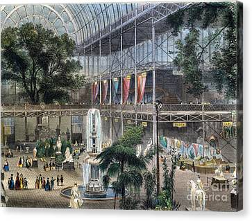 Crystal Palace Canvas Print by Granger