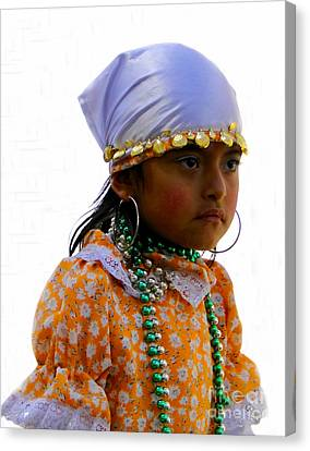 Cuenca Kids 199 Canvas Print by Al Bourassa