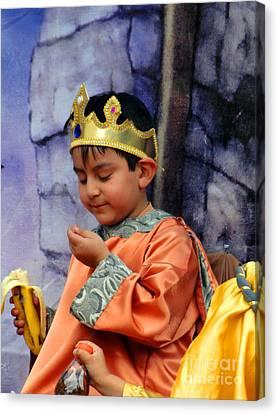 Cuenca Kids 40 Canvas Print by Al Bourassa