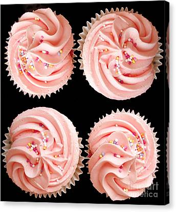 Cup Cakes Canvas Print by Jane Rix