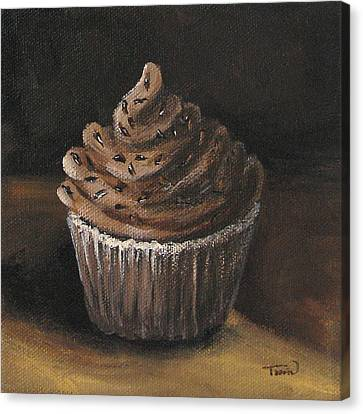 Cupcake 003 Canvas Print by Torrie Smiley