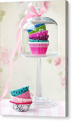 Cupcake Cases Canvas Print by Ruth Black