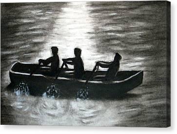Curach Canvas Print by C Nick