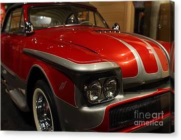 Custom Ford Automobile . 7d13111 Canvas Print by Wingsdomain Art and Photography