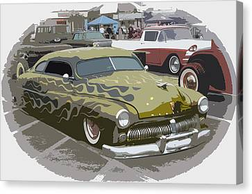 Custom Merc Canvas Print by Steve McKinzie
