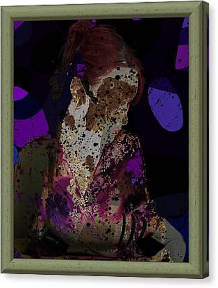 cybergeisha II Canvas Print by Adam Kissel