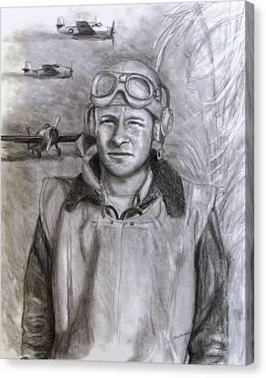 Dad Ww2 Canvas Print by Jack Skinner