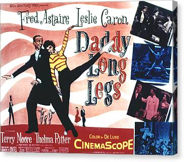 Daddy Long Legs, Fred Astaire, Leslie Canvas Print by Everett