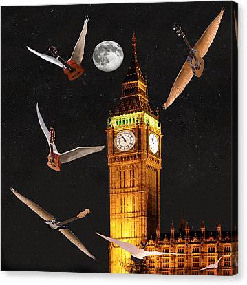 Dance In The Dark Canvas Print by Eric Kempson