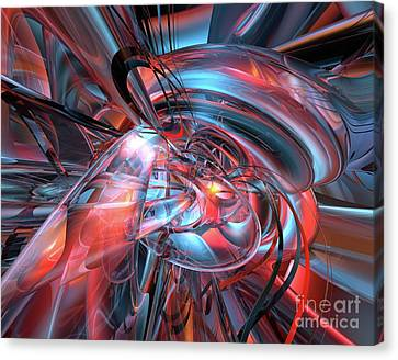 Dance Of The Glassmen Fx Canvas Print by G Adam Orosco