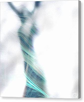 Dance To Meet The Morning Canvas Print by Gun Legler