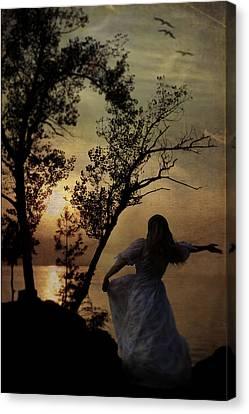 Dancing Girl Canvas Print by Joana Kruse