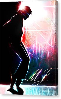 Dancing In The Stars Canvas Print by The DigArtisT