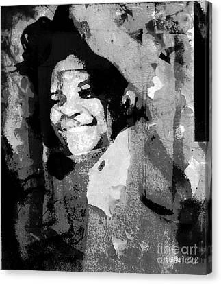 Dancing Invisible Canvas Print by Fania Simon