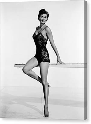 Dangerous When Wet, Esther Williams Canvas Print by Everett