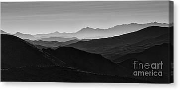 Dantes View Canvas Print by Keith Kapple