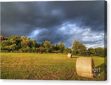 Dark Clouds Before Storm Canvas Print by Michal Boubin