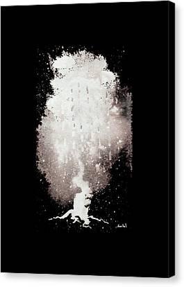 Dark Day Canvas Print by Sean Seal