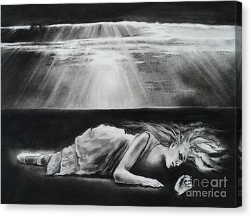 Darkness Falls Upon Me Canvas Print by Carla Carson