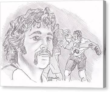 Dave Schultz- The Hammer Canvas Print by Chris  DelVecchio