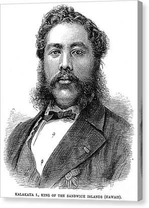 David Kalakaua (1836-1891) Canvas Print by Granger