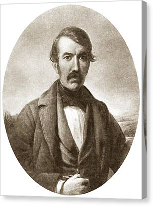 David Livingstone, Scottish Explorer Canvas Print by Sheila Terry