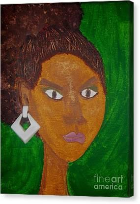 Davina Canvas Print by LCherise