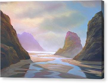 Day Of Reckoning Canvas Print by Michael Cook