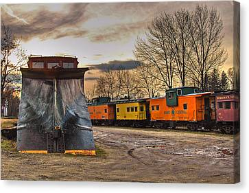 Day Of The Plow Canvas Print by Joann Vitali