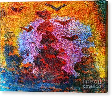 Day Time Is Here Canvas Print by Fania Simon