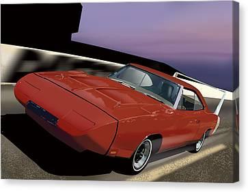 Daytona Nights Canvas Print by Richard Herron