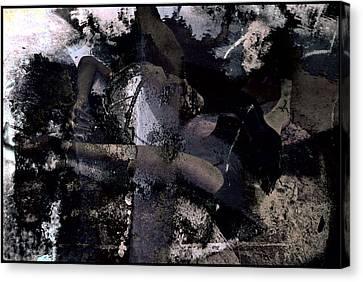 Dead Sea Blues Canvas Print by Adam Kissel
